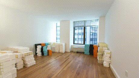 Офисные комнаты из лего