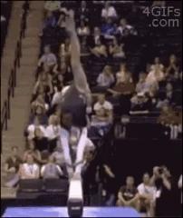 Находчивая гимнастка