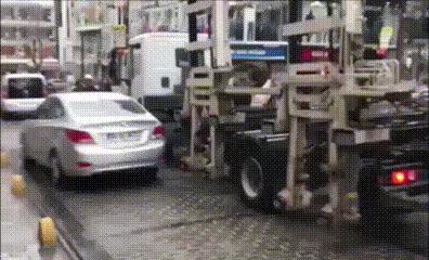 Была машинка, и нет машины